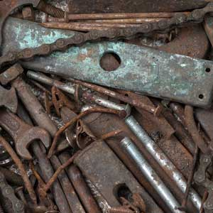 old tools to scrap